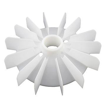 Kunststof ventilator laten spuitgieten