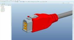 Ontwerpen in 3D van een kunststof connector