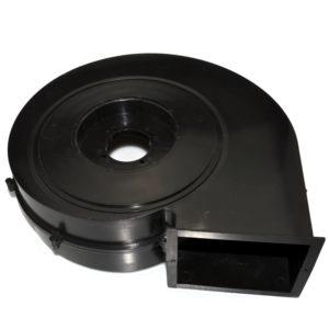 Kunststof spuitgieten in ABS van ventilator behuizing
