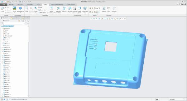 Industrieel ontwerpen in 3D van kunststof producten