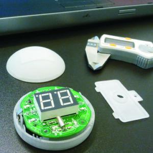 Ontwerpen van kunststof behuizing voor gadget
