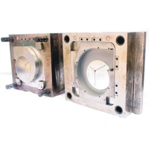 Large injection mold